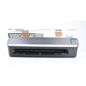 VISION Laminiergerät G 40 Laminierfolien Eckenrunder DIN A3 USB LED-Anzeige schwarz (231225)