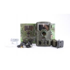 Berger & Schröter 31646 FHD Wildkamera Wildüberwachung 16MP black LEDs braun (231333)
