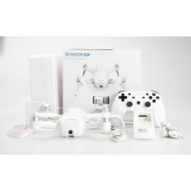 Yuneec Breeze Kit Drohne Quadrocopter Kameraflug 13MP RtF GPS WLAN weiß (231411)