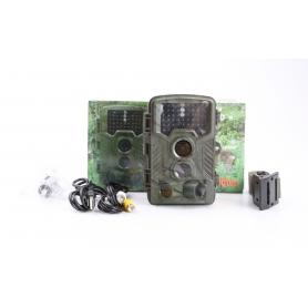 Berger & Schröter 31646 FHD Wildkamera Wildüberwachung 16MP black LEDs braun (231413)