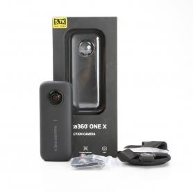 Insta360 One X Actionkamera Camcorder 360° Videokamera 5,7k Videoauflösung 18MP schwarz (231494)