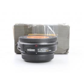 Metabones Objektiv-Adapter Konverter Canon EF Micro 4/3 T-Speed Booster XL 0,64x schwarz (231500)