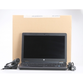 HP ZBook G2 15,6 Notebook Intel Core i7-4910MQ 2,9GHz 16GB RAM 512GB SSD Nvidia Quadro K2100M Windows 10 grau (231513)