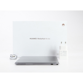 Huawei MediaPad M5 Lite 10 10,1 Tablet Octa Core Kirin 659 1,7GHz 3GB RAM 32GB Fingerprint 4G LTE WiFi Android grau (231554)