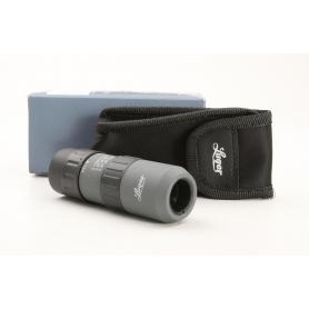 Luger MZ 5-15x17 Fernglas Monokular 5-fache Vergrößerung platzsparend Dachkant schwarz (231612)