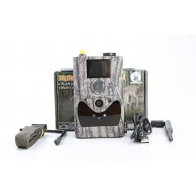 Berger und Schröter SG880MK18M/HD Wildkamera Infrarotkamera Tonaufzeichnung SMS E-Mail camouflage (231619)