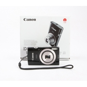Canon IXUS 185 Digitalkamera 20 Mio. Pixel Opt. Zoom: 8 x Schwarz (231644)
