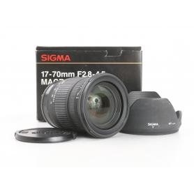Sigma EX 2,8-4,5/17-70 DC SLD Makro Sony (231766)