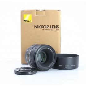 Nikon AF-S 1,8/50 G (231935)