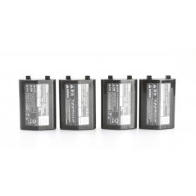 Nikon Konvolut aus 4 Akkus: 2x EN-EL4 1900mAh und 2x EN-EL4a 2500mAh (216198)