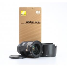 Nikon AF-S 2,8/17-55 G ED DX (232091)