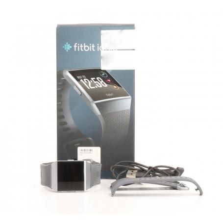 FitBit Ionic Smartwatch Fitness-Uhr Sportuhr Multisport Smarttrack wasserabweisend dunkelgrau (232188)