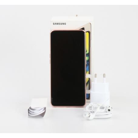 Samsung Galaxy A80 6,7 Smartphone Handy 128GB 48MP Dual-SIM Android Angel gold (232202)