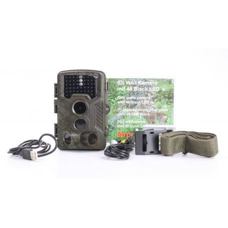 Berger & Schröter 31646 FHD Wildkamera Wildüberwachung 16MP black LEDs braun (232169)