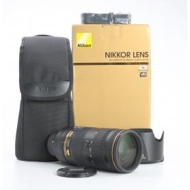 Nikon AF-S 2,8/70-200 E FL ED VR (232250)