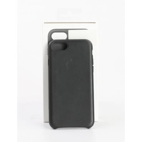Apple Leather Case Backcover Schutzhülle Handyhülle iPhone SE iPhone 8 iPhone 7 schwarz (232207)