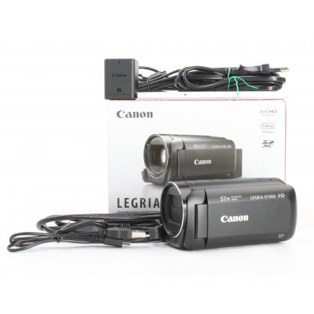 Canon Legria HF-R806 Camcorder 3,28MP 2,8-89,6mm 3 FHD optischer Zoom 32x HDMI USB schwarz (232217)