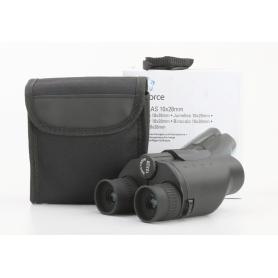 Renkforce 1547811 Fernglas Porro Binocular 10x Vergrößerung schwarz (232333)