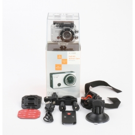 Denver AC-5000 W Action Cam Webcam 5MP FHD Micro USB Mini HDMI wasserfest stoßfest silber schwarz (232341)
