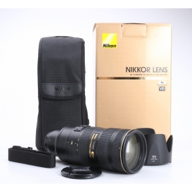 Nikon AF-S 2,8/70-200 G IF ED VR II (232635)