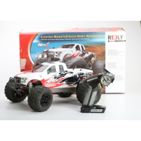 Reely NEW1 Brushless 1:10 RC Modellauto Elektro Monstertruck Allradantrieb RtR 2,4GHz (232739)