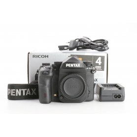 Pentax K-1 Mark II digitale Spiegelreflexkamera Body 36,4MP FHD WLAN Sensor-Typ CMOS schwarz (232766)