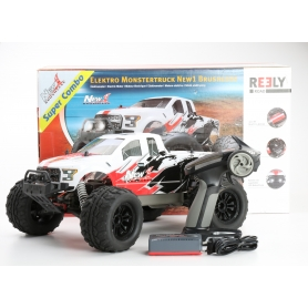 Reely NEW1 Brushless 1:10 RC Modellauto Elektro Monstertruck Allradantrieb RtR 2,4GHz (232811)
