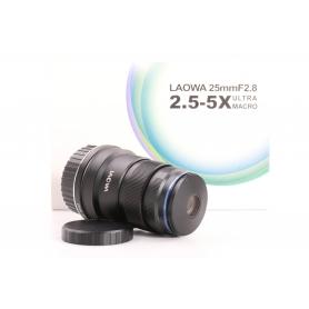 Laowa 2,8/25 2,5-5,0x Ultra Macro-Objektiv für Nikon F (232878)