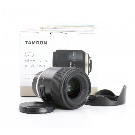 Tamron SP 1,8/45 DI VC USD für NI/AF (232924)