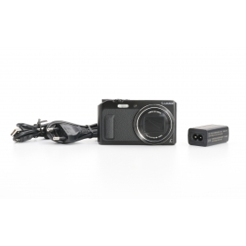 Panasonic DMC-TZ58 digitale Kompaktkamera 16MP 4,3-86mm 3 FHD Video WiFi schwarz (233018)