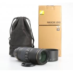 Nikon AF-S 4,0/70-200 G ED N VR (233099)
