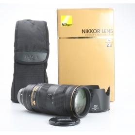 Nikon AF-S 2,8/70-200 E FL ED VR (233132)