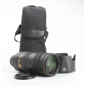 Nikon AF-S 2,8/70-200 E FL ED VR (233148)