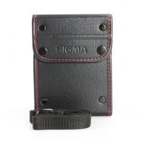 Sigma Leder Köcher Tasche Objektivtasche ca. 10x10x12 cm (233341)