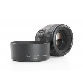 Nikon AF-S 1,4/50 G (233462)
