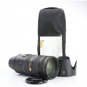 Nikon AF-S 2,8/70-200 G IF ED VR II (233489)