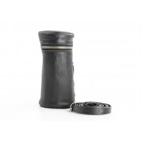 OEM Leder Köcher Objektivtasche ca. 6x12 cm (233870)