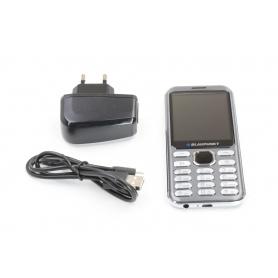 Blaupunkt FL02 2,8 Handy 32MB 1,3MP QVGA-Display Dual-SIM Bluetooth dunkelgrau (234278)