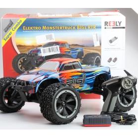 Reely BIG1 Brushless 1:8 RC Modellauto Elektro Monstertruck Allradantrieb RtR 2,4GHz (234281)
