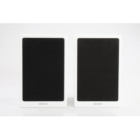 Denon 1 Paar SC-N9 Lautsprecher Stereolautsprecher Speaker 2 Wege Boxen weiß (234285)