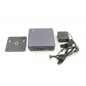 Asus Chromebox 3 N007U Mini-PC Intel Celeron 3865U 1,8GHz 4GB RAM 32GB SSD Intel HD Graphics 610 schwarz (234272)