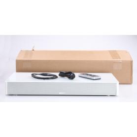 Canton DM 60 Soundbar Sounddeck Subwoofer Heimkino-System 200 Watt Glasoberfläche weiß (234318)