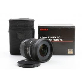 Sigma EX 2,8/4,5 DC Fisheye HSM C/EF (234428)