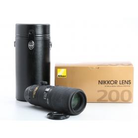 Nikon AF 4,0/200 Micro IF ED D (234485)