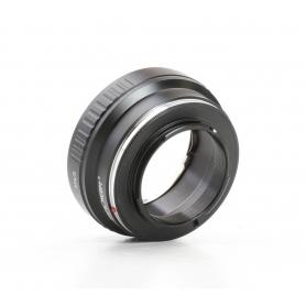 K&F Concept Adapter NIK(G)-M4/3 (Nikon Objektiv auf Micro Four Third Camera) (234499)