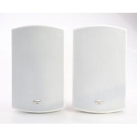 Klipsch 1 Paar AW-650 Outdoor-Lautsprecher Subwoofer 85 Watt weiß (234472)