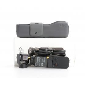 DJI Osmo Pocket Actioncam Handkamera 1/2,3 Sensor 4K UHD 1080p 12MP bis 140 Min Laufzeit schwarz (234565)