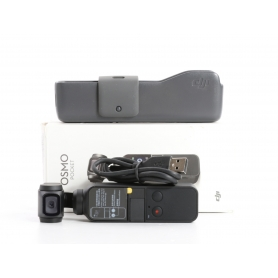 DJI Osmo Pocket Actioncam Handkamera 1/2,3 Sensor 4K UHD 1080p 12MP bis 140 Min Laufzeit schwarz (234566)