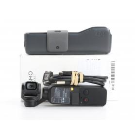 DJI Osmo Pocket Actioncam Handkamera 1/2,3 Sensor 4K UHD 1080p 12MP bis 140 Min Laufzeit schwarz (234567)