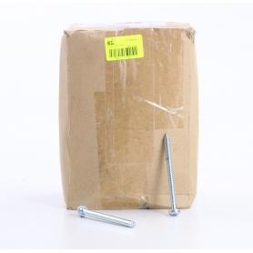 Toolcraft 250 Stück 147679 Linsenblechschrauben Schrauben Kreuzschlitz Pozidriv 6,3x80mm silber (234574)